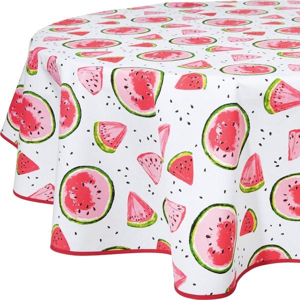 Erwin Müller Tischdecke mit Druckmotiv Wassermelone