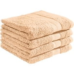 Redbest Duschtuch Chicago apricot 4er-Pack
