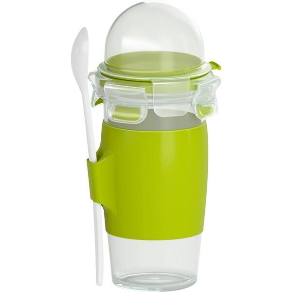 Emsa Joghurt-Becher Clip & Go grün