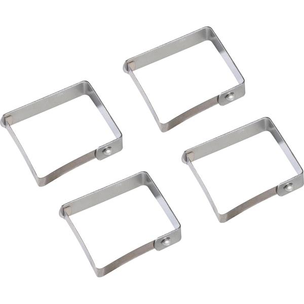 Tischklammer silber 4er-Pack