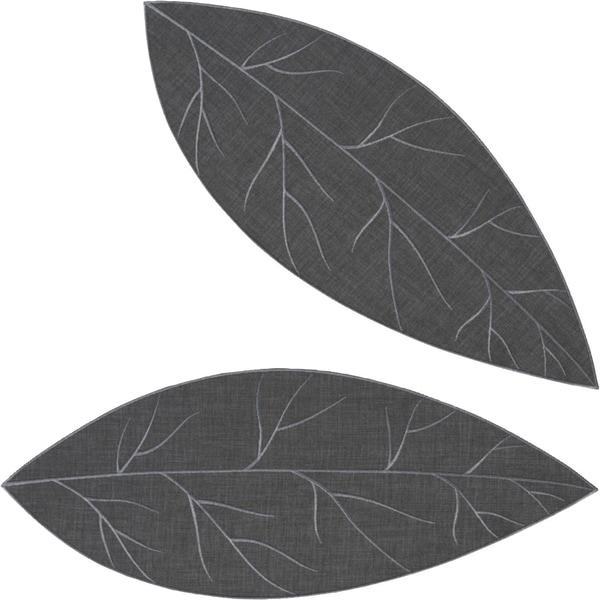 Sander Aufleger Fashion 2er-Pack graphit