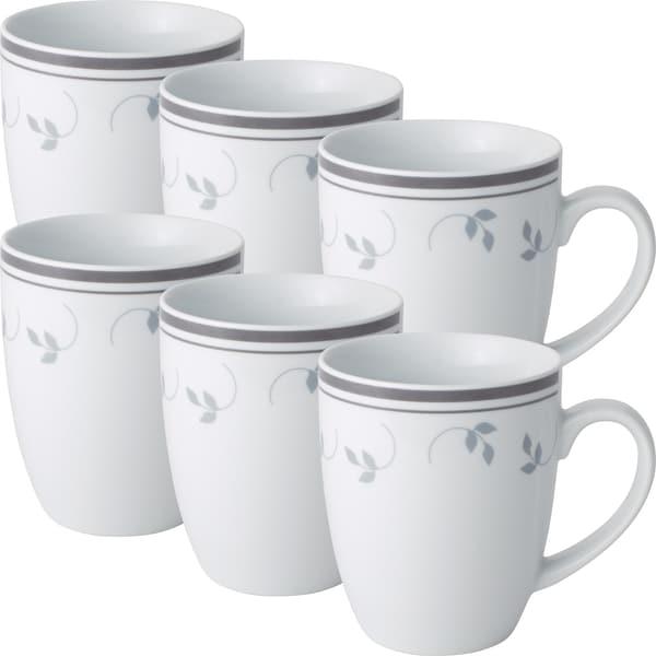 Gepolana Kaffeebecher grau 6er-Pack