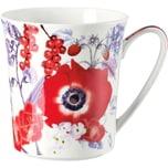 Rosenthal Kaffeebecher Belles Fleurs rot