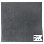 Erwin Müller Microfasertuch 6er-Pack grau