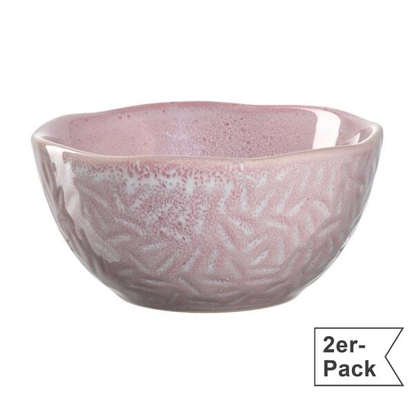 Leonardo Schale klein Matera 2er-Pack rosa