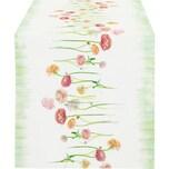 Apelt Tischläufer Springtime mit Druckmotiv natur-rosé