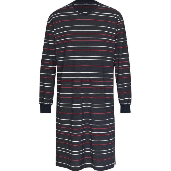 Ammann Herren-Nachthemd marine