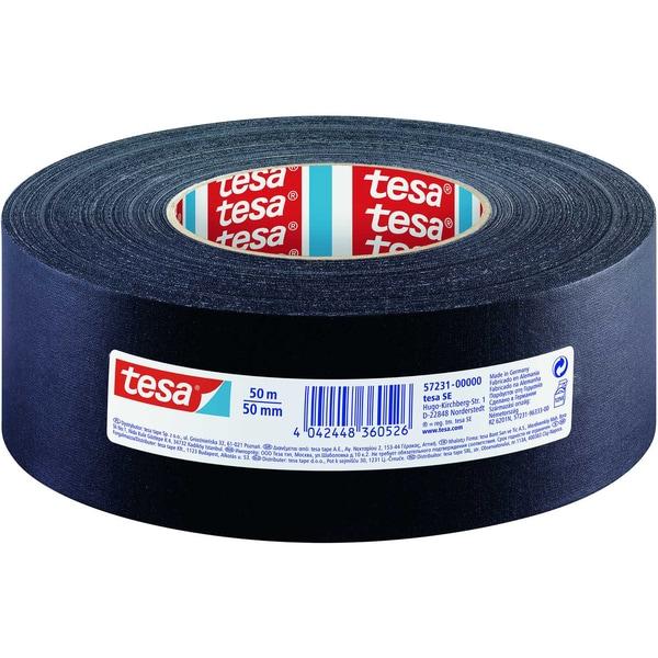 tesa Gewebeband 50mmx50m schwarz Nr. 57231 Premium
