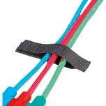 Kabelverl. Velcro einf. 16x sw