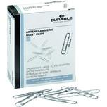 Durable Aktenklammer 50mm rund gewellt Nr. 122625. PA= 100Stk . verzinkt