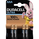 Duracell Batterie Alkaline Micro AAA Nr. 002692. LR06. 1.5V. PA= 4Stk.
