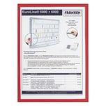 Franken Dokumentenhalter A3 rot Nr. ITSA3M 01. 3.2my. magnethaftend