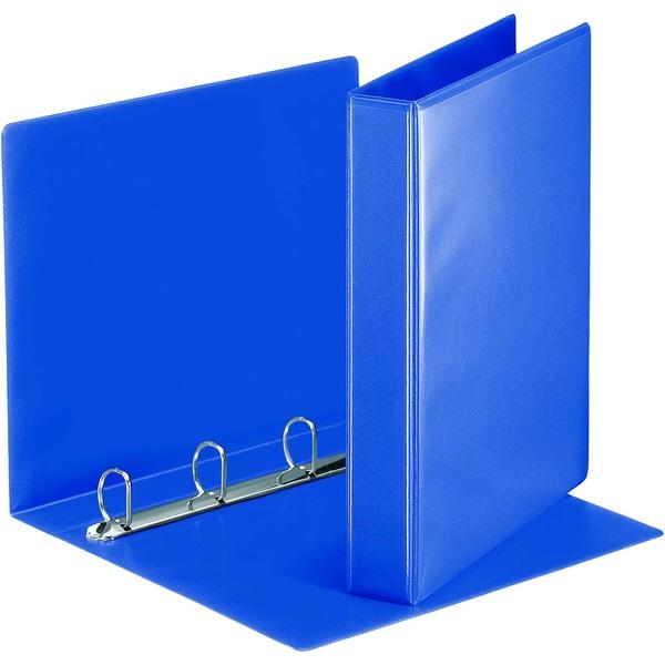 Esselte Ringbuch Präsentation A4 blau Nr. 49715 4 Ringe Ø 30mm PP 51mm