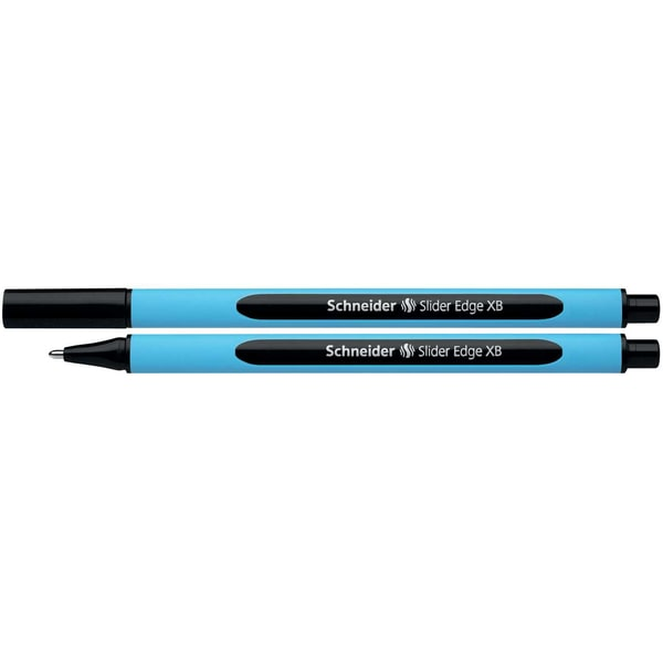 Schneider Kugelschreiber Slider Edge XB Nr. 152201 schwarz Kappenmodell