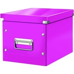 Leitz Archivbox Click & Store Cube A4 Nr. 6109-23 26x24x26cm pink