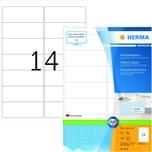 Herma Adress-Etiketten Nr.4678 weiß PA 1.400Stk 991 x 381mm bedruckbar