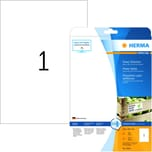 Herma SuperPrint-Etiketten Nr. 10911 PA 25 Stk 210x 297mm Powerkleber