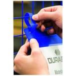 Durable Logistiktasche A5 quer m. Lasche Nr. 1749-07 blau PA 50Stk