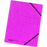 Falken Eckspanner Colorspan A4 fuchsia Nr. 11286671 355g/m² ohne Klappen