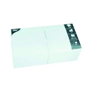 Fasana Serviette 3-lagig 33x33cm Nr. 12484 weiß PA= 250Stk