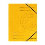 Herlitz Eckspanner Colorspan A4 gelb Nr. 11387164 355g/m² ohne Klappe
