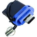 Verbatim USB-Stick Dual Drive 16GB Nr. 49965 USB 3.0 blau