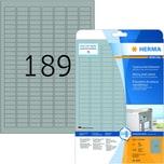 Herma Typenschild Special Nr 4220 silber PA= 4.725 Stück 254x10mm