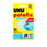 Uhu Patafix Klebepads transparent Nr. 48815 PA 56 Stück 10x12mm