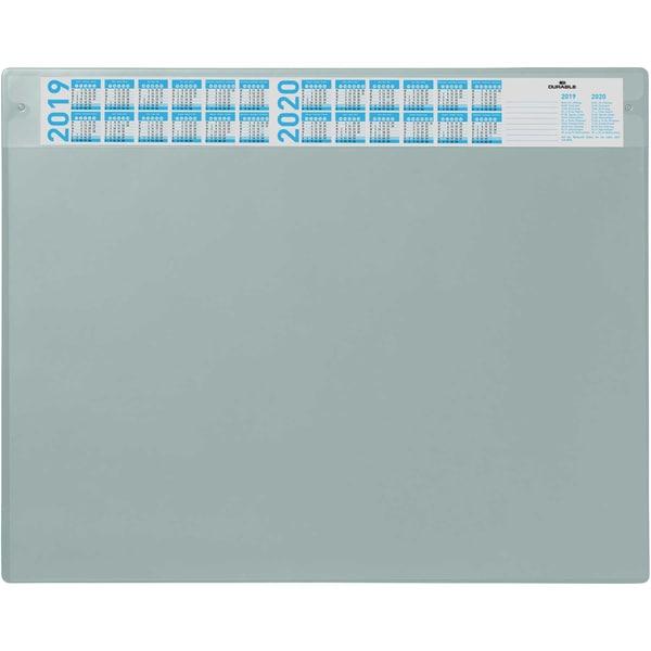 Durable Schreibunterlage grau Nr. 7205-10 52x65mm Deckel wechselbar