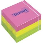 3M Tartan Haftnotizen 76x76mm neon Nr. 7676N. PA= 6 Block à 100 Blatt
