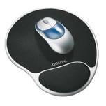 Esselte Mousepad mit Handgelenkauflage Nr. 67038 silber schwarz 23x3x26cm