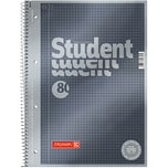 BRUNNEN Collegeblock Student A4 kariert Nr. 1067142. 90g. 80 Blatt