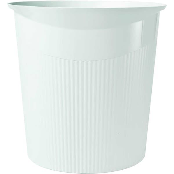 HAN Papierkorb Loop weiß 13 Liter Nr. 18140-12 Höhe: 29cm konisch