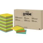 Post-it Haftnotiz Extreme Notes sortiert 76x76mm. PA= 24 Block à 45 Blatt