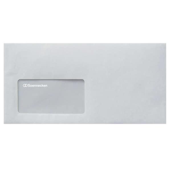 Soennecken Briefumschlag 1307 DL haftklebend PA 25St weiß mit Fenster 80g