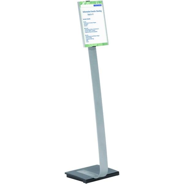 Durable Bodenständer INFO SIGN stand A4 481223 Aluminium