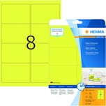 Herma Neon-Etikett Nr. 5144 neongelb PA 160 Stück 991x677mm