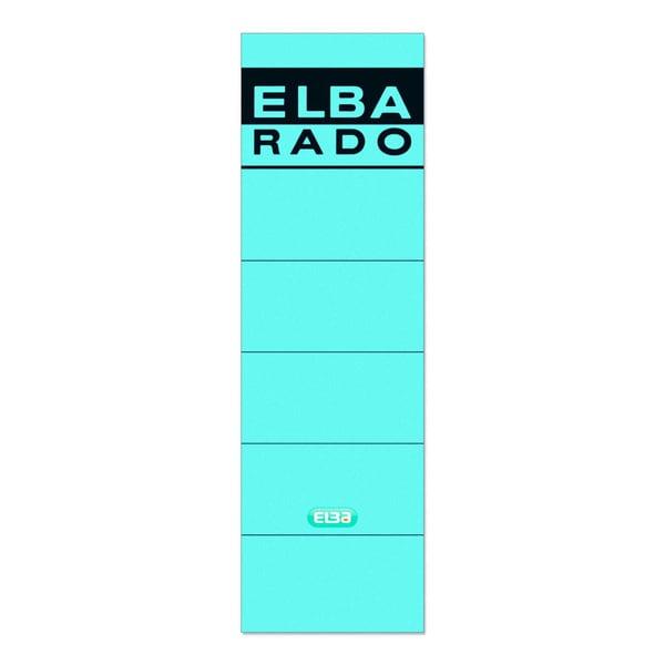Elba Rückenschild breit/kurz blau 100420952 sk PA 10Sthandbeschreibbar