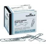 Durable Aktenklammer 77mm rund gewellt Nr. 122725 PA 100 Stück verzinkt