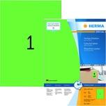 Herma Premium-Etikett Nr. 4404 grün PA= 100Stk. 210x297mm. bedruckbar