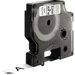 Dymo Schriftbandkassette S0720530 12mmx7m schwarz auf weiß45013 D1