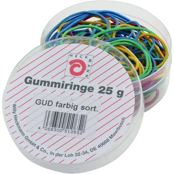 Wihedü Gummiringe rot sortiert Nr. 510065 Dose 25g