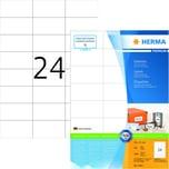 Herma Superprint-Etiketten Nr. 4464 weiß PA 2.400Stk 70x37mm permanent