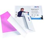 Biella Präsentationsmappe Pearl 7 A4quer Nr. 0186457.01 weiß Karton