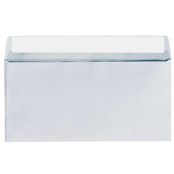 Soennecken Briefumschlag 1306 DL haftklebend PA 25St weiß ohne Fenster 80g