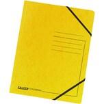 Falken Eckspanner Colorspan A4 gelb Nr. 11286448 355g/m² ohne Klappen