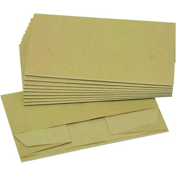 Abfallsack Kraftpapier 2-lagig 70g Nr. 6491 55x110+20cm braun