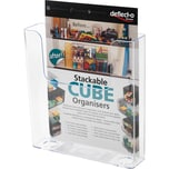 Deflecto Prospekhalter A5 transparent Nr. 76301 173x18x45cm 1 Fach