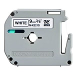P-touch Schriftbandkassette MK 221 SBZ 9mm x 4m. schwarz auf weiß