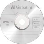 Verbatim DVD-R 16x 47GB Scratch Surface Nr. 43548 50er Spindel